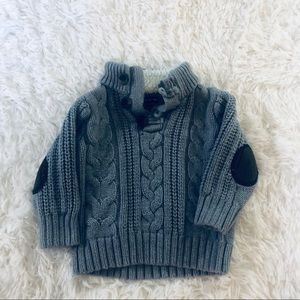 Baby Gap gray pullover sweater. 12-18 month